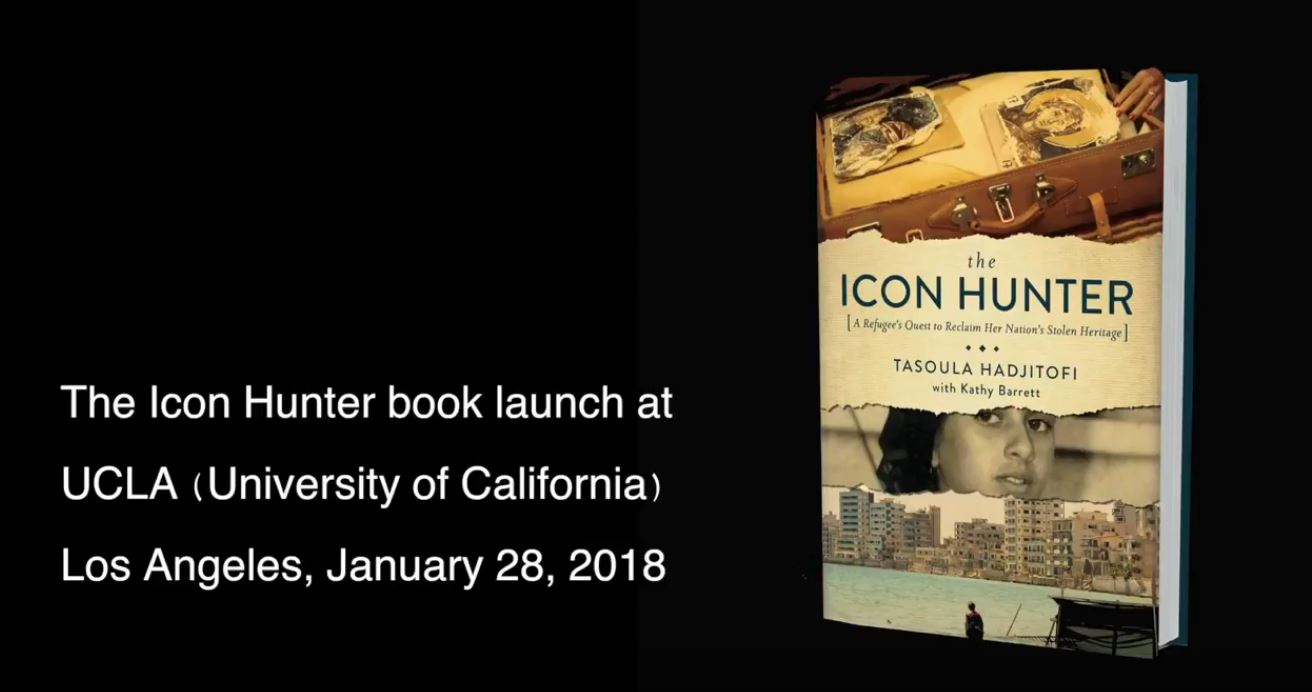 Book Presentation 28th Jan '18 - UCLA, Los Angeles