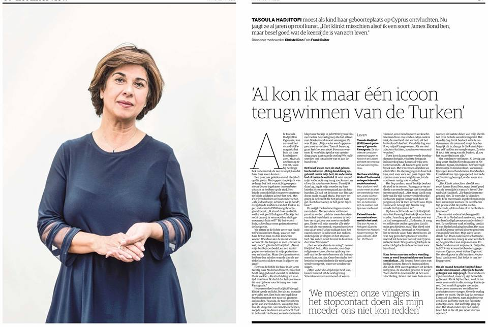 'If only I could recover one icon from the Turks.' – NRC.nl