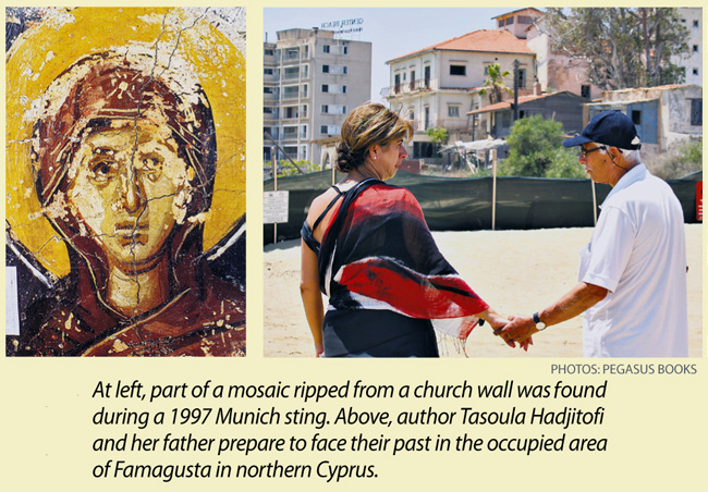 Sidebar: 'Icon Hunter' – Tasoula Hadjitofi