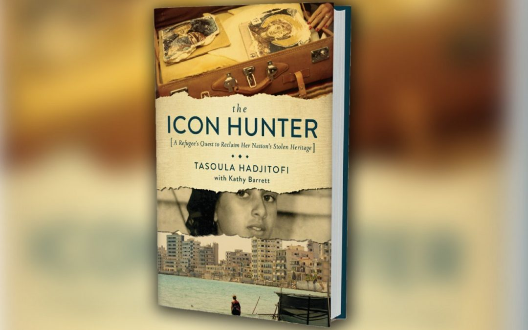 The Icon Hunter book by Tasoula Hadjitofi