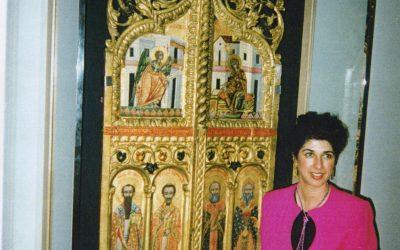 Επιστροφή εκκλησιαστικού θησαυρού από Ιαπωνία αξιώνει η Τασ. Χατζητοφή